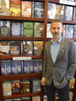 My Book of the Month shelf in Goldsboro Books