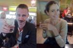Mr and Mrs Black Chalk at JFK airport, UK-bound