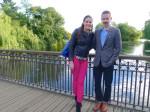 Regent's Park where we used to walk on Sundays; nostalgia setting in