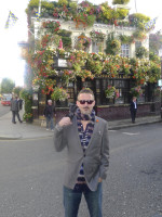 One of my favourite pubs in the world, The Churchill Arms in Notting Hill. I used its name for the pub in Black Chalk